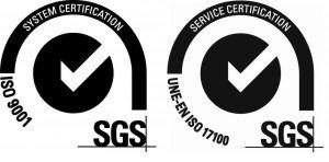 ISO 9001 - ISO 17100
